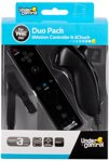 Wii Remote + Nunchuck Pack Black