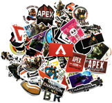 Sada 68ks nálepiek Apex Legends
