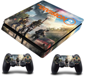PS4 Slim polep Tom Clancys  The Division 2