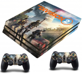 PS4 PRO polep Tom Clansys The Division 2