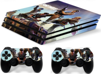 PS4 Pro polep Fortnite V2