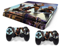 PS4 Slim polep Fortnite V2