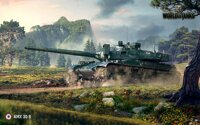 Plagát World of Tanks AMX 30B HQ lesk