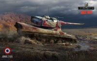 Plagát World of Tanks AMX 50B HQ lesk