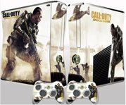 Xbox 360 Slim polep COD adwanced Warfare