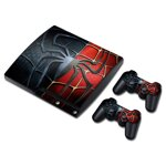 PS3 Slim polep Spiderman