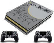 PS4 PRO polep God Of War