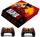 PS4 Pro polep Red Dead Redemption 2 V2
