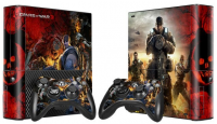 XBOX 360 E polep GEARS OF WAR 3