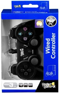 Joypad Under Control - black PS3