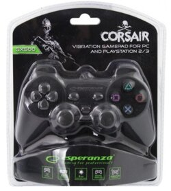 Corsair Gamepad Esperanza EG106 (PC/PS2/PS3) V2