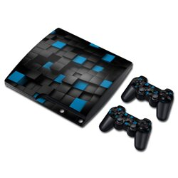 PS3 Slim polep Cube