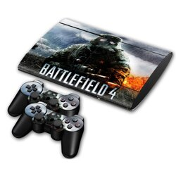PS3 SuperSlim polep Battlefield