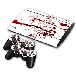 PS3 SuperSlim polep BLOOD