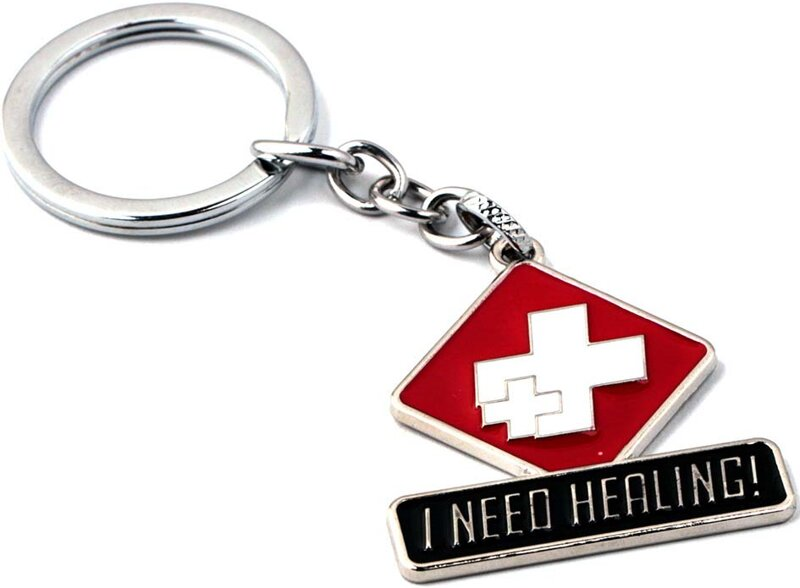 Kľúčenka Overwatch Healing strieborná 78d9e887baa